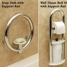 Invisia™ Safety Enhanced Bathroom Accessories