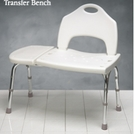 Tool-Free Shower Chair and Transfer Bench