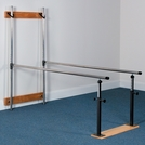 Clinica™ Parallel Bars, Wall Folding