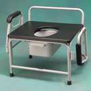 Heavy Duty/ Bariatric Drop Arm Commode