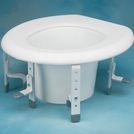 Norco™ Adjustable Raised Toilet Seat