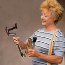 Carex® Adjustable Folding Cane