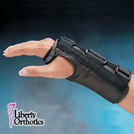 Liberty™ Leather D-Ring Wrist Orthosis