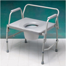 X-Large Drop Arm Commode