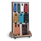 Hausmann® Mobile Cuff Weight Storage Rack
