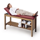 Hausmann Treatment Table with Adjustable Backrest