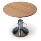 Round Hydraulic Work Table