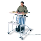 Hausmann® Hi-Lo Econo-Line Stand-in Table with Electric Lift