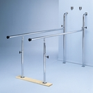 Wall-Mounted Folding Parallel Bars