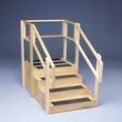 3-Sided Training Stairs