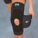 Hinged Lateral J Patella Stabilizer