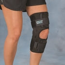 Hely & Weber Knapp™ Hinged Knee Orthosis with Anterior Closure