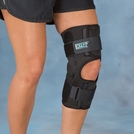NoSwet® Knapp™ Hinged Knee Orthosis with Anterior Closure
