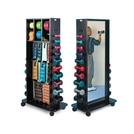 Multi-Purpose Clinic Rack with Mirror