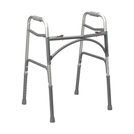 Double Button Extra-Wide Adult Folding Bariatric Walker