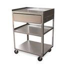 Stainless Steel Cart with Drawer