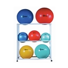 Exercise Ball Storage Cart
