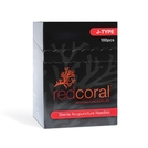 Red Coral J-Type Acupuncture Needles- Close Out