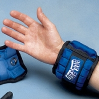 Adjustable Cuff & Ankle Weights - Pediatric Wrist 1/6 To 2 Lbs. (.07 To 0.9Kg) E