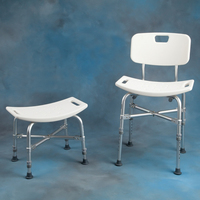 Bath & Shower Chairs Bariatric Shower Benches Bariatric Shower Bench with Back E