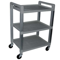 3 Shelf Poly Cart 3 Shelf Poly Cart Each Item No.:NC88480-G Category:Physical Therapy, SUB CATEGORY:Treatment Furniture, SUBCATEGORY:Carts, TYPE:3 Shelf Poly Cart