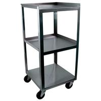3 Shelf Stainless Steel Utility Cart 3 Shelf Stainless Steel Utlity Cart Each