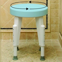 Bath & Shower Chairs Rotating Shower Seat Rotating Shower Chair Each