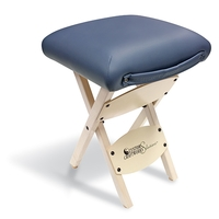 Wooden Folding Stool Black Each