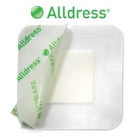 Alldress® Absorbent Vapourpermeable Adhesive Dressing 4 x 4 (10 x 10cm) 10 Eac
