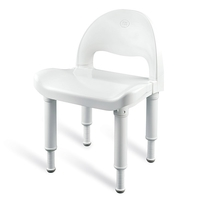 Bath & Shower Chairs Glacier Shower Chairs Shower Chair with Back Each