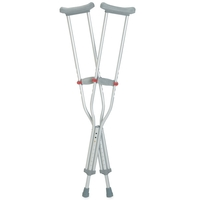 Adult & Youth Crutches Adult 5' 1 to 5' 9 (1.6 to 1.8m) Each