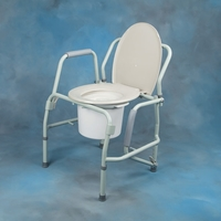 Commodes Commode with Drop Arm Drop Arm Commode 300 lb (136kg) Each