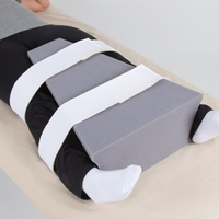 Abduction Pillow Abduction Pillow Large Each Item No.:NC81002 Category:Physical Therapy, SUB CATEGORY:Positioning, SUBCATEGORY:Bed Positioning, TYPE:Lower Extremity