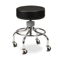 Chrome Base Stool Clinton Chrome Base Stool Each
