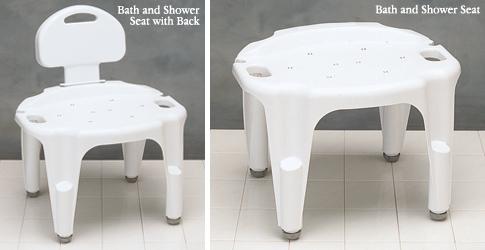 Carex Adjustable Bath and Shower Seat | North Coast Medical