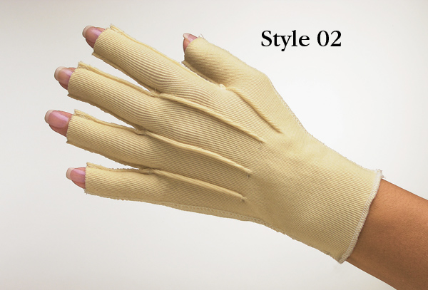 how to make a fake hand in a glove