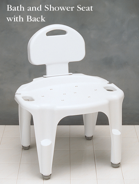 Carex Adjustable Bath and Shower Seat | North Coast Medical