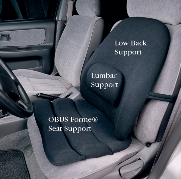 Obus Forme 174 Seat And Back Supports North Coast Medical