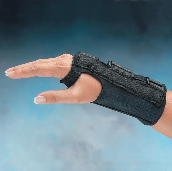 Comfort Cool 174 Firm D Ring Wrist Splints North Coast Medical