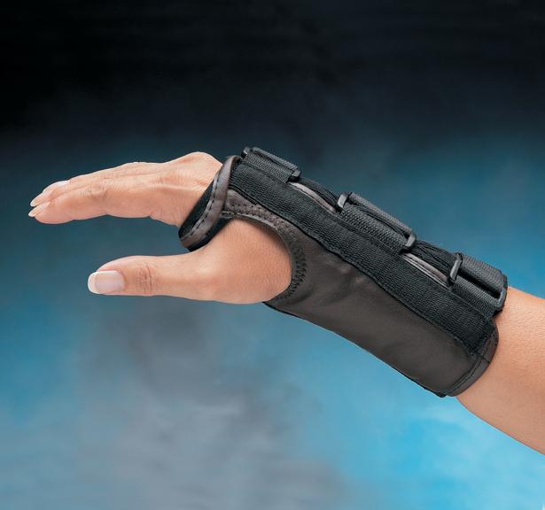 Liberty Leather D Ring Wrist Splint North Coast Medical