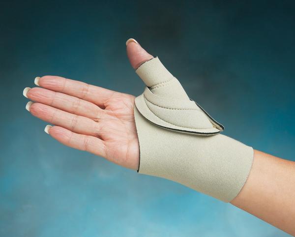 Comfort Cool Thumb Cmc Restriction Splint Beige North Coast Medical