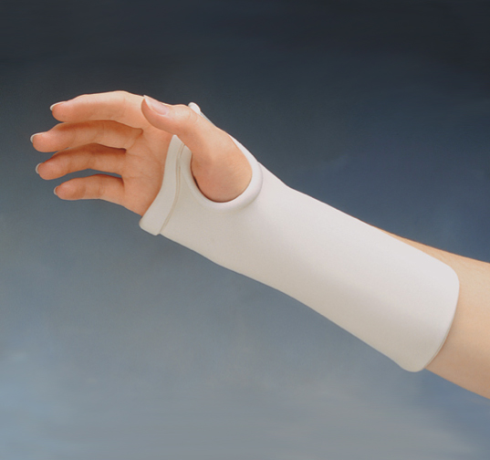 Thumb Hole Wrist Cock Up Precut Splint North Coast Medical
