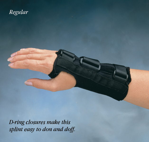 Comfort Cool D Ring Wrist Orthosis North Coast Medical