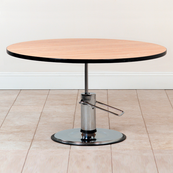 Round Hydraulic Lift Table North Coast Medical