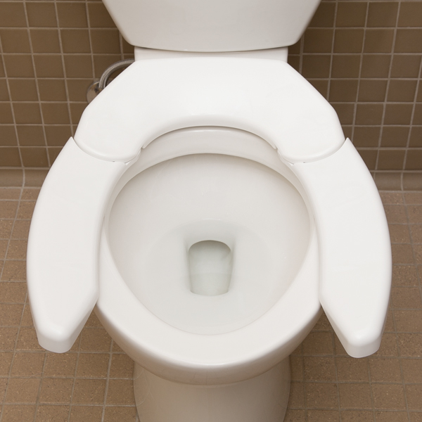 Adjustable Advantage Toilet Seat North Coast Medical