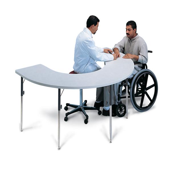 Hausmann Model 6674 Horseshoe Therapy Table North Coast