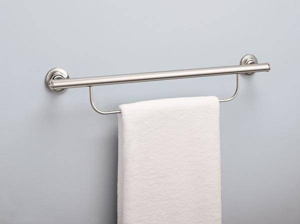 Moen 174 Designer Grab Bars With Integrated Bathroom Fixtures