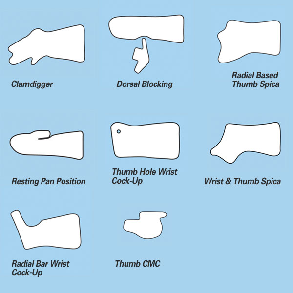 Pediatric Thumb Spica Splint Pictures To Pin On Pinterest