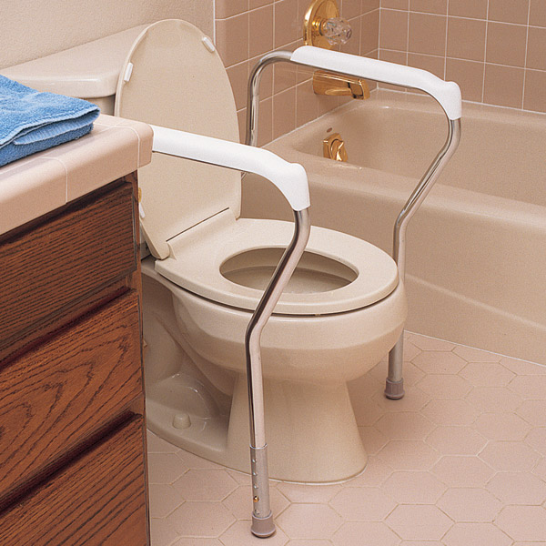 lumex toilet safety frame north coast medical