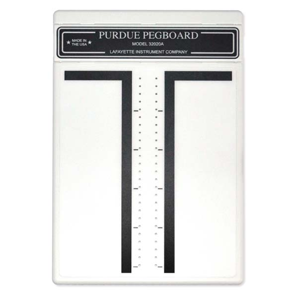 purdue pegboard test instructions
